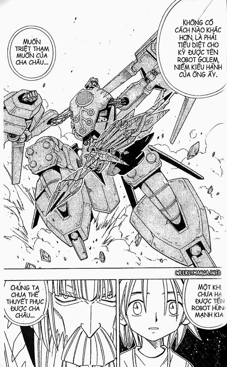 Shaman King [Vua pháp thuật] chap 206 trang 9