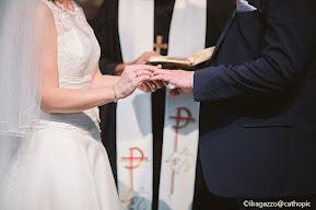 Gli sposi stringono un'alleanza fra loro e con Dio nel matrimonio