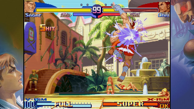 Street Fighter 30th Anniversary Collection - Sagat VS Dan