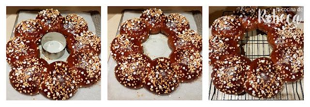 Receta de roscón de Reyes de chocolate: enfriado