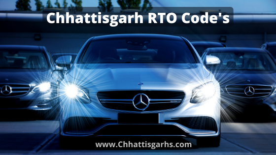 CG  RTO CODE ( Chhattisgarh Vehicle Code )