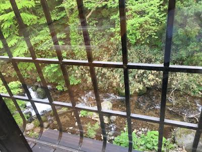 駒ヶ岳温泉 部屋からの眺望