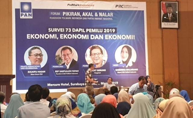 Eep Syaifulloh Fatah: Elektabilitas 40,4 Persen, Posisi Jokowi Sangat Rawan