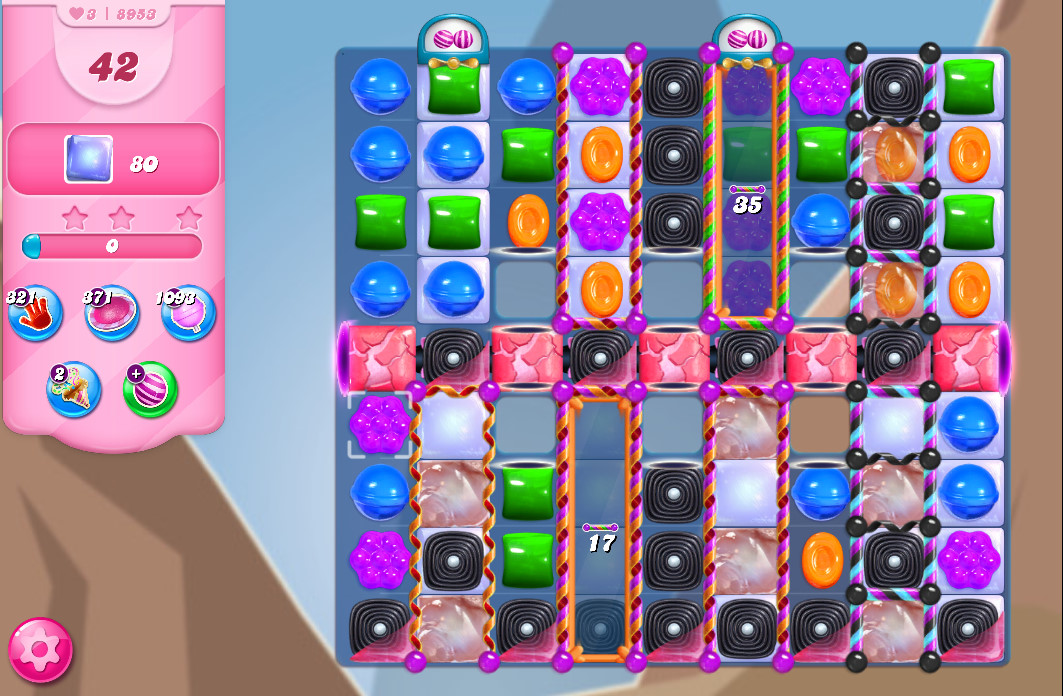 Candy Crush Saga level 8953