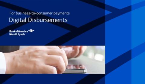 Bank of America – Digital Disbursements