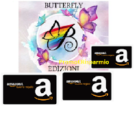 Butterfly : vinci gratis buoni Amazon da 15 euro