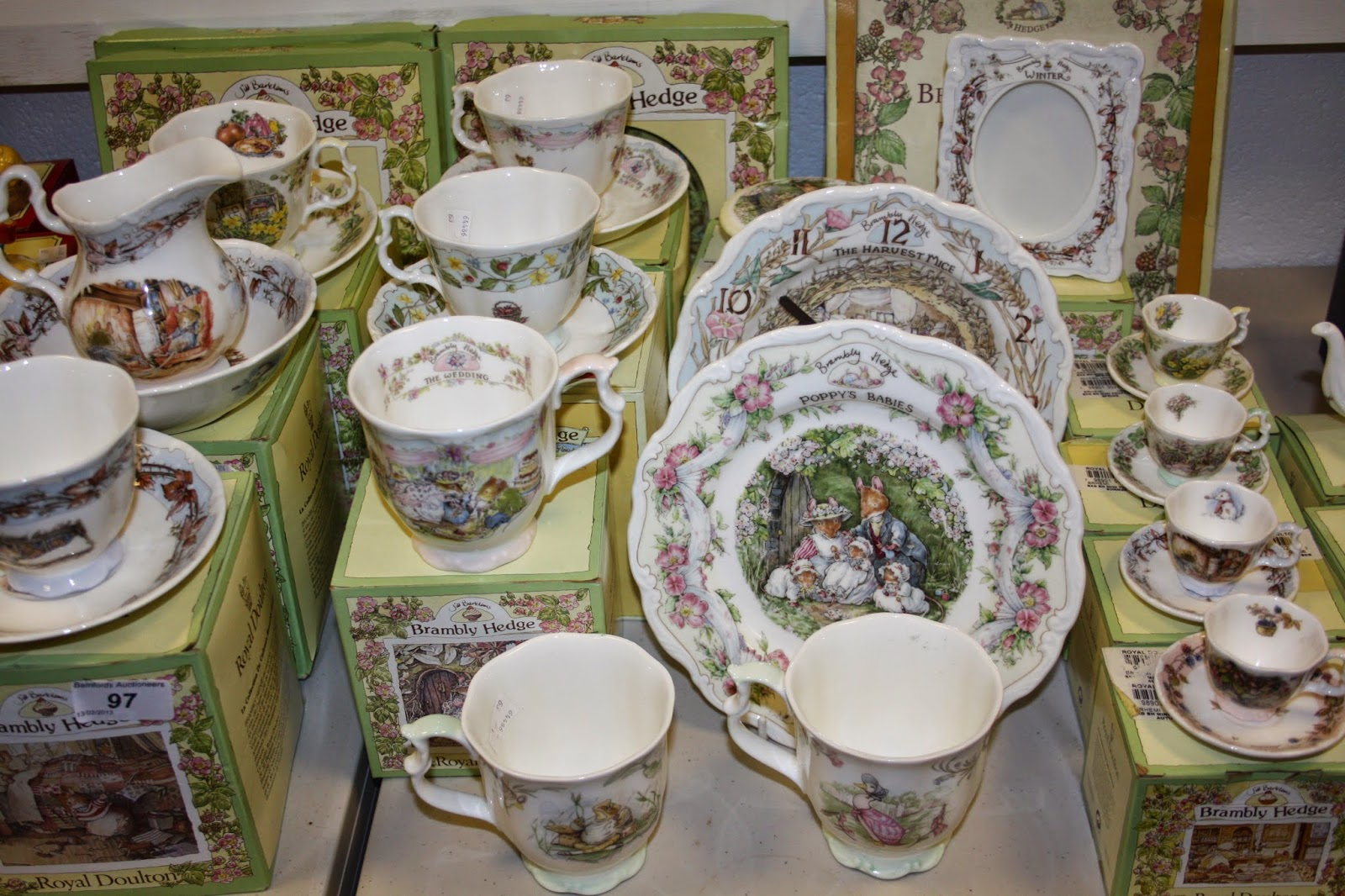 Royal Doulton Brambly Hedge Price Guide Collectibles Coach