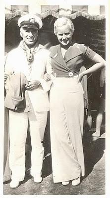 Чарли Чаплин и Полетт Годдар в 1932 г.