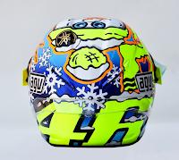 Helm AGV Pista GP Replika Rossi