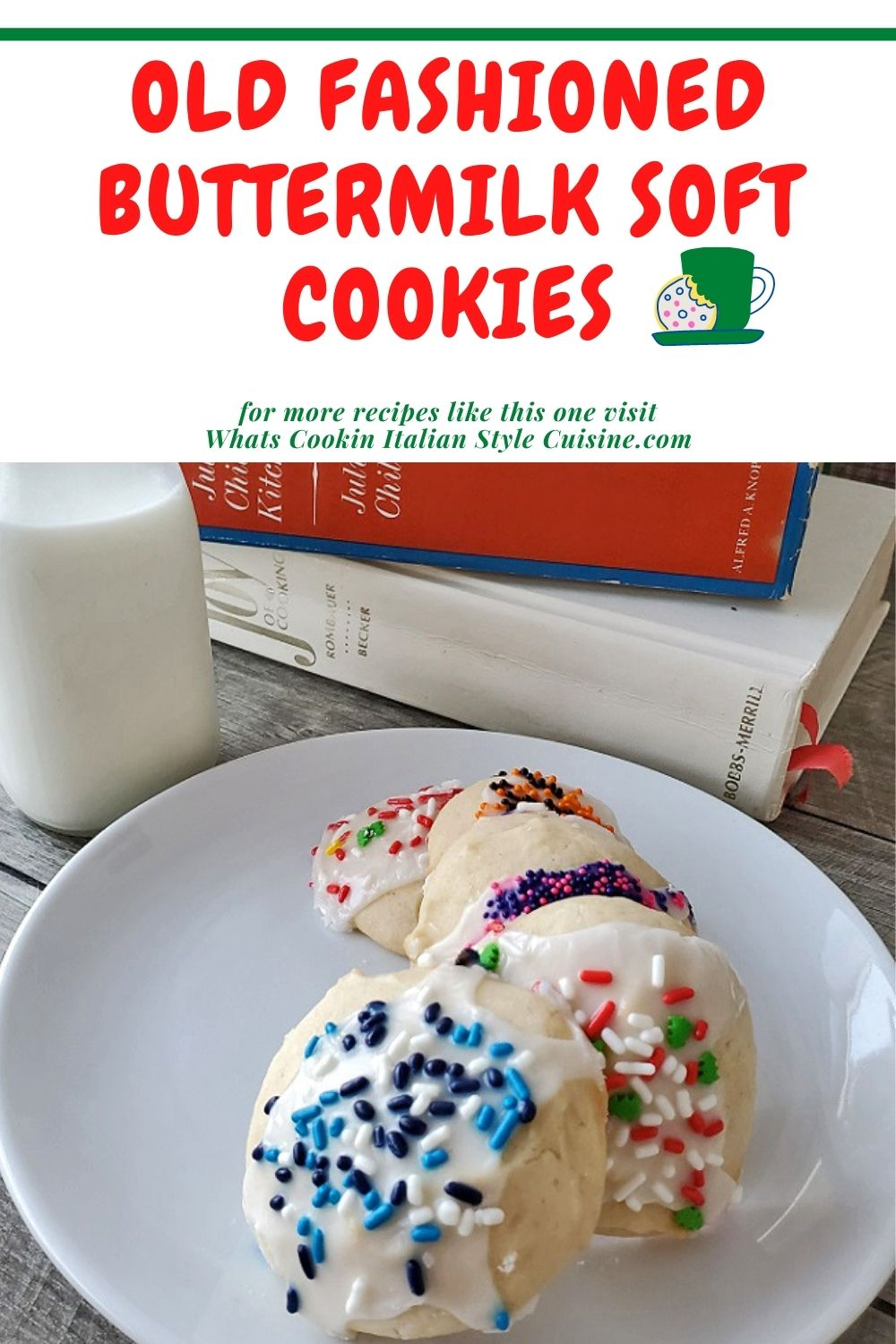 this is a pin for later on how to make old fashioned sugar cookie recipes