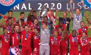 Bayern bate o PSG é hexa-campeão da Champions League