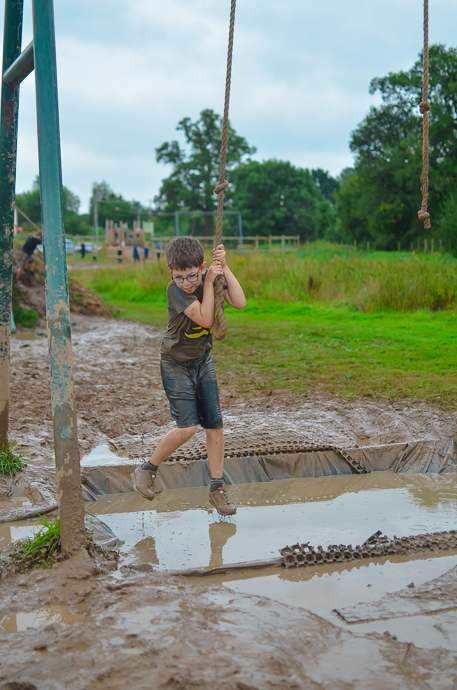 The Bear Trail, family assault course, Cullompton Devon
