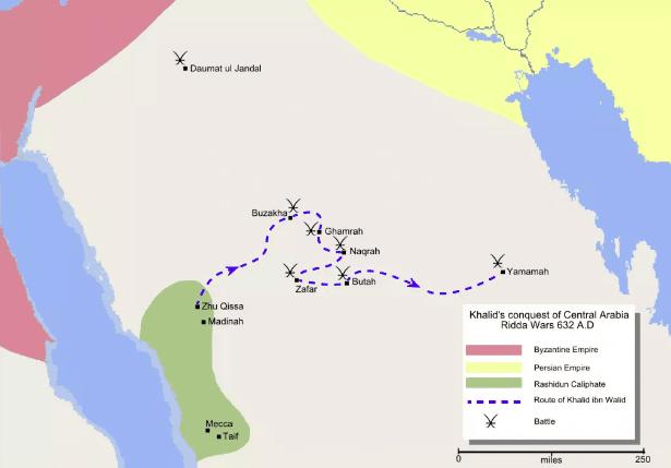 Era Abu Bakr (632-634) Penaklukan Arabia