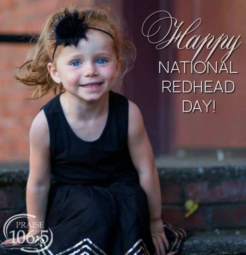 National Redhead Day Wishes Pics