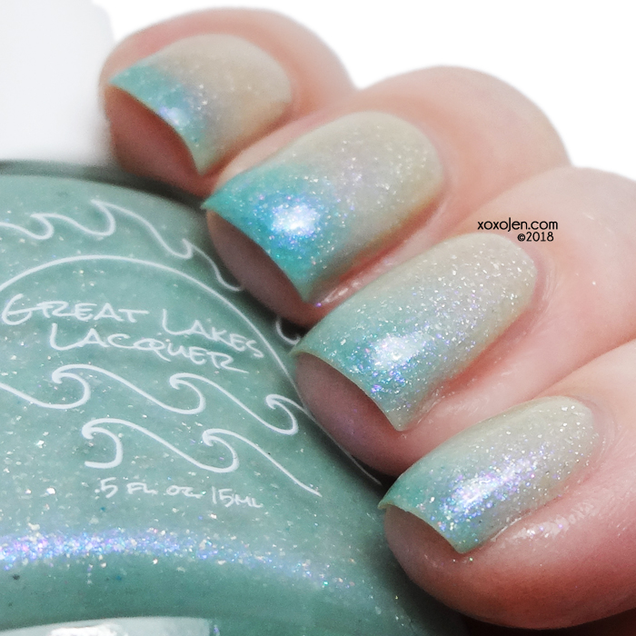 xoxoJen's swatch of Great Lakes Lacquer A Caged Bird Sings