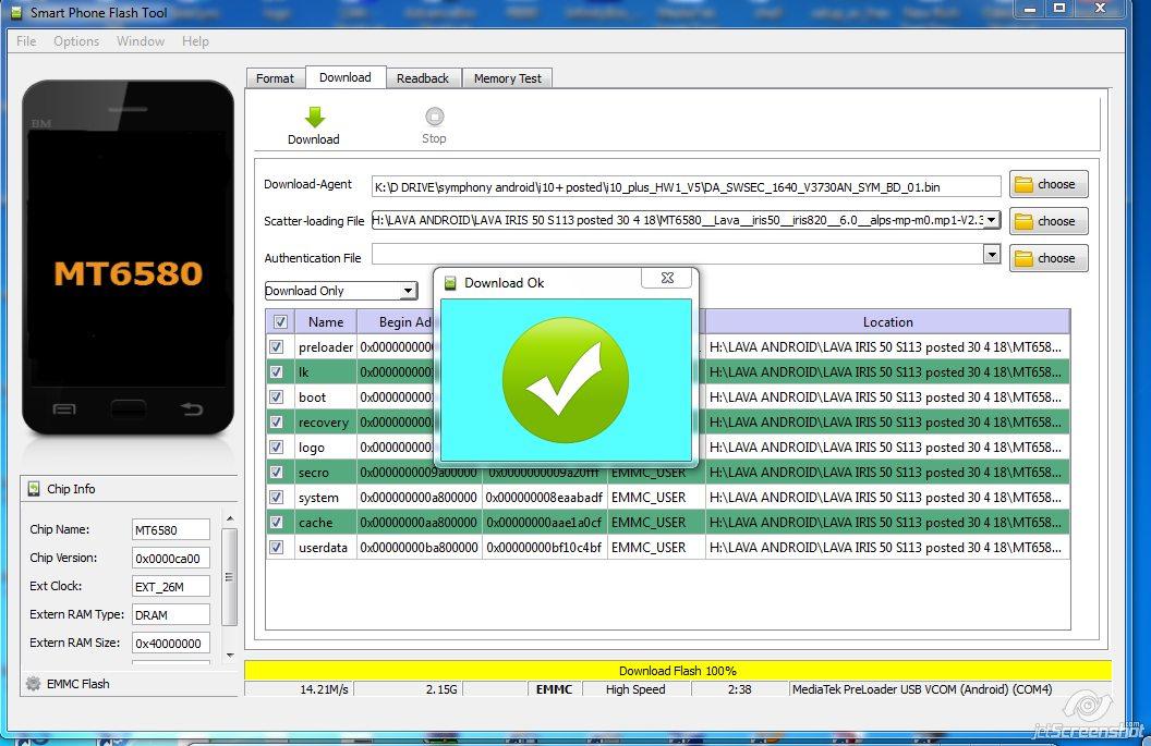 LAVA IRIS 50 S113 Dead Boot Recovery LCD Fix Stock Rom 100