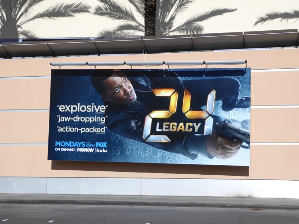 24 Legacy TV billboard