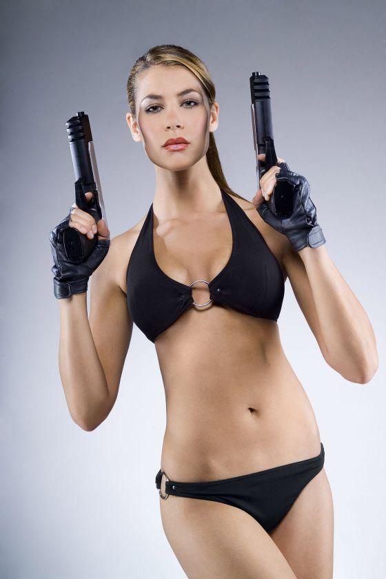 Made Lara croft in bikini pictures could