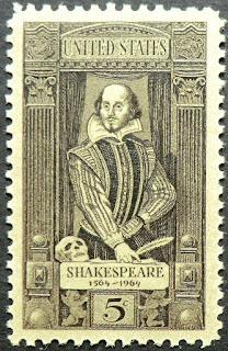 USA 1964 5c William Shakespeare Poet Playwright Master of English language