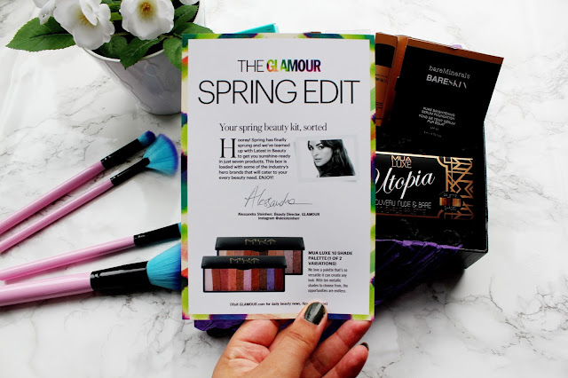 Glamour Spring Edit Box Review