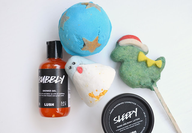 Lush Christmas Collection Review