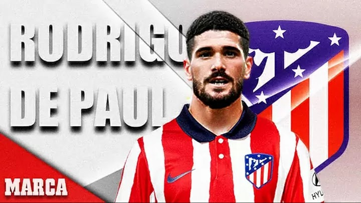 Official: Rodrigo De Paul joins Atletico Madrid
