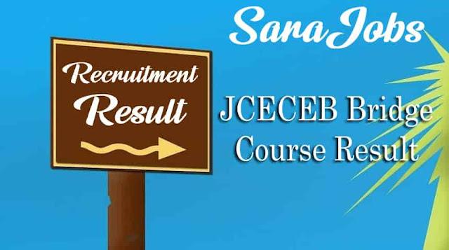 JCECEB Bridge Course Result