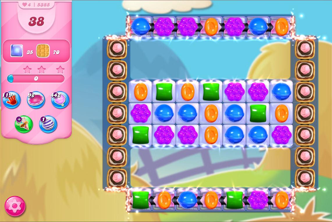 Candy Crush Saga level 5385