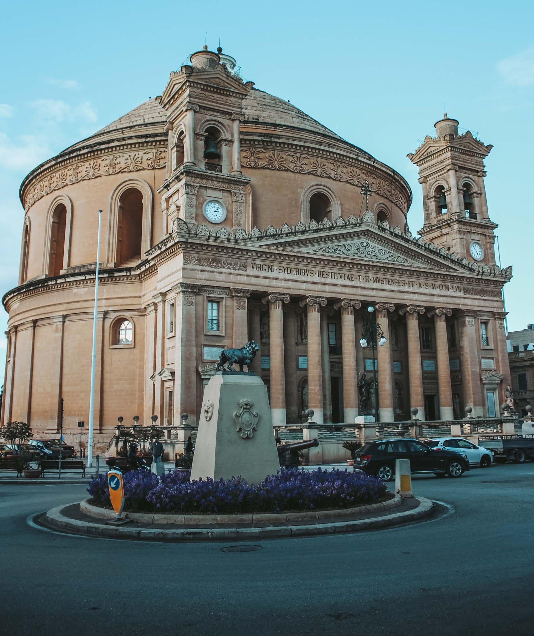 Mosta Malta Kirche