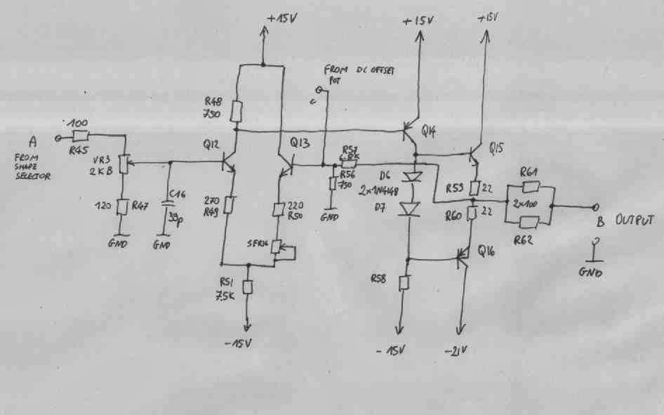 electronics engineering notes: Fixing Voltcraft 8202 sweep