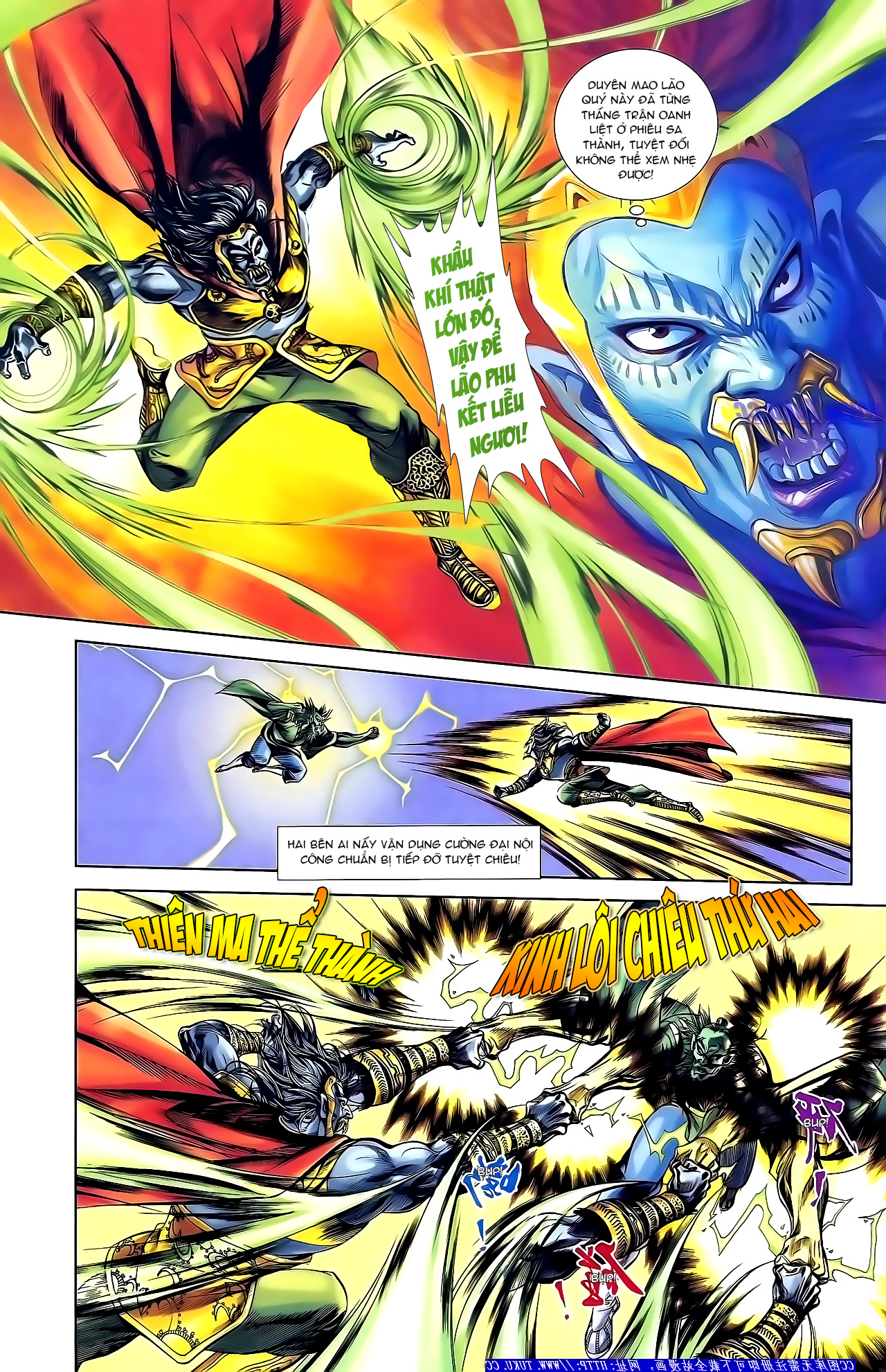 Cơ Phát Khai Chu Bản chapter 155 trang 13