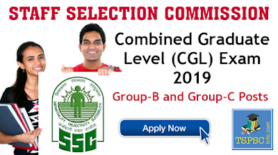 SSC CGL Notification 2019 Apply Online and Exam date