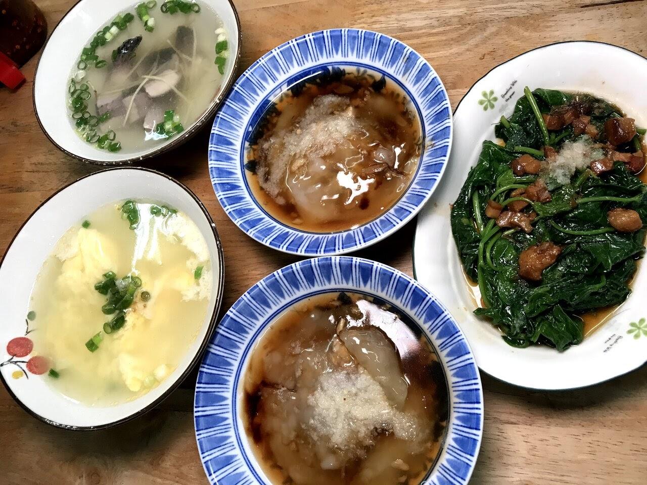 【台南|北區】巷仔內肉圓|平價巷弄小吃還有特色手工麻糬當甜點|古早的家常味