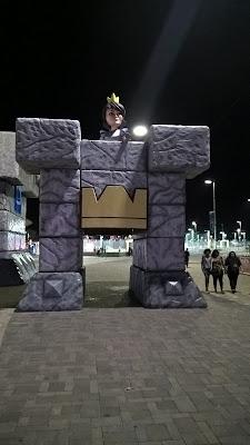 1b737f800bed1 Na tarde de quarta-feira foram abertos os portões do Parque Olímpico para o  Preview do GameXP e logo de cara assim que passávamos pela entrada tinham  duas ...
