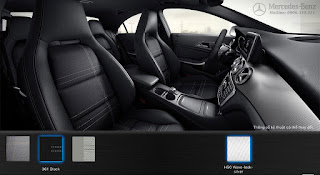 Nội thất Mercedes CLA 200 2018 màu Đen 361