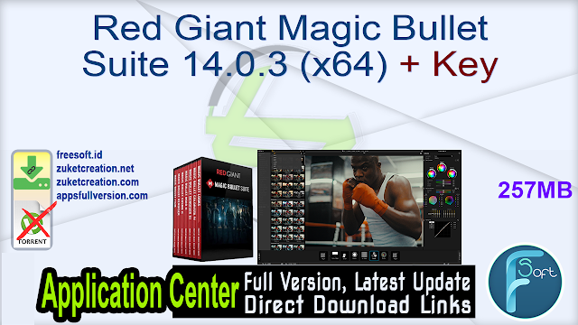 Red Giant Magic Bullet Suite 14.0.3 (x64) + Key