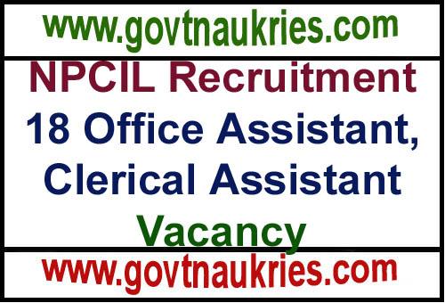 Govt Jobs for India NPCIL