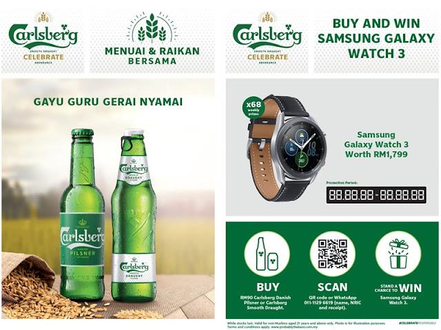 Carlsberg Beer Gawai Harvest Festival Promotion