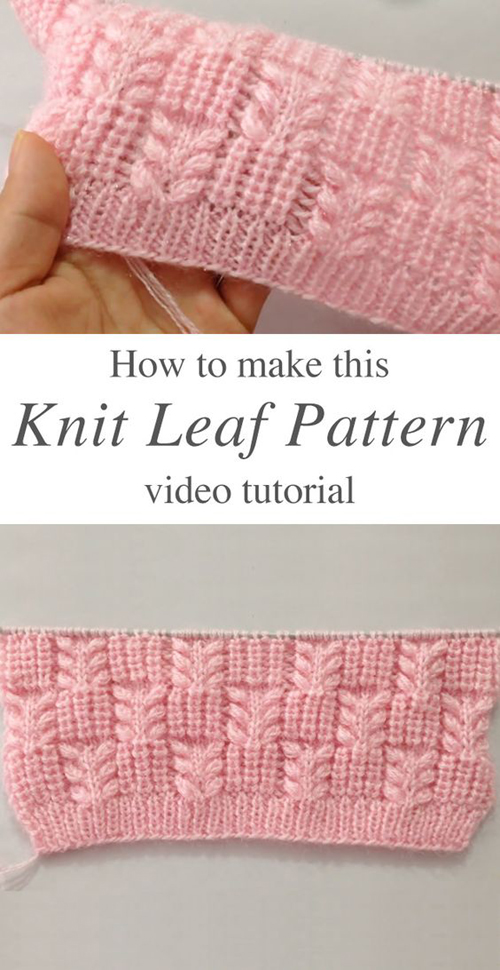 Very Pretty Stitch Pattern For Ladies Cardigan/Blanket - Tutorial