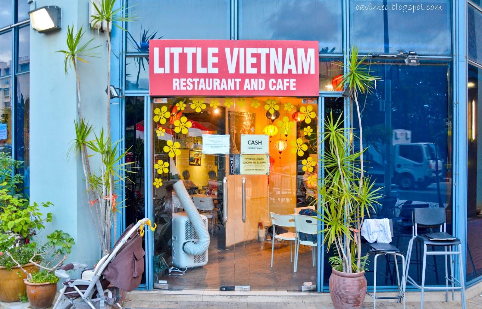 Entree Kibbles Little Vietnam Restaurant And Cafe