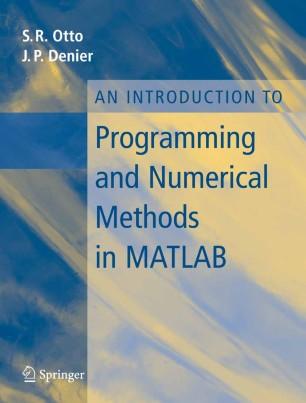 Numerical Methods in MATLAB كتاب مهم جدا