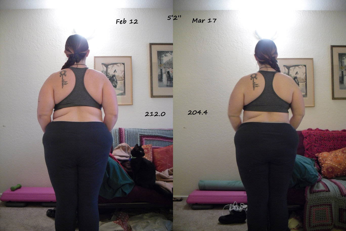 Fat And Fancy Free Challenge End Results