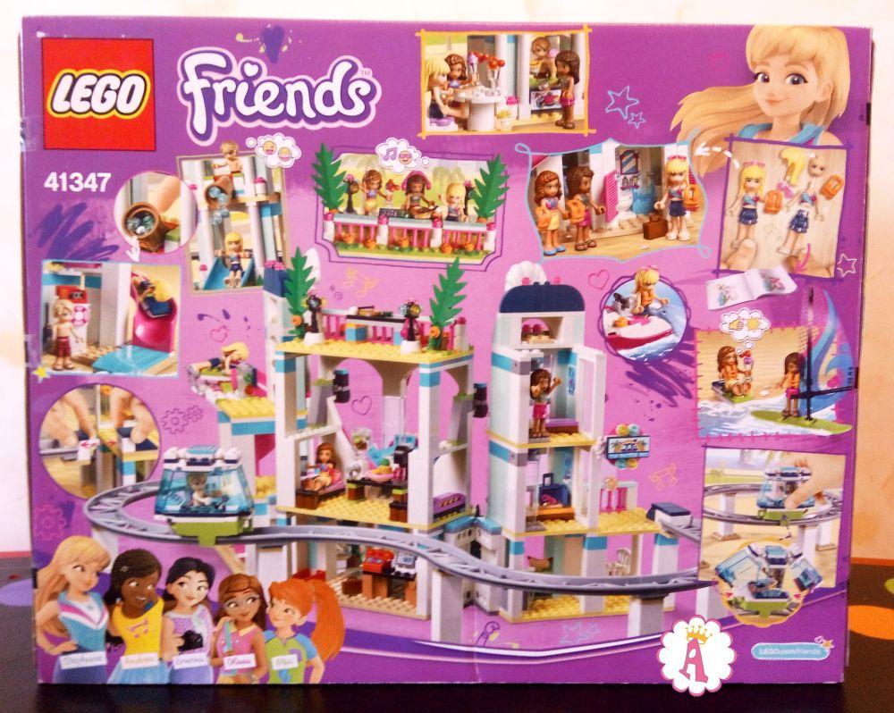 Распаковка LEGO Friends Heartlake City Resort 41347 ...
