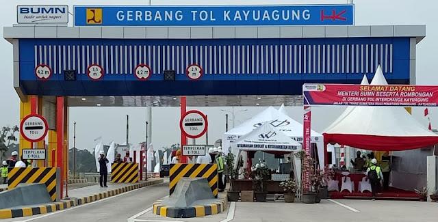 Menteri BUMN Amini Usul Pemkab OKI untuk Tambah Exit Tol Trans Sumatera