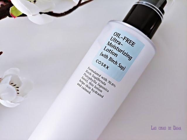 Cosmética Asiática Oil-Free Ultra Moisturizing Lotion Cosrx locion kbeauty beauty belleza skincare