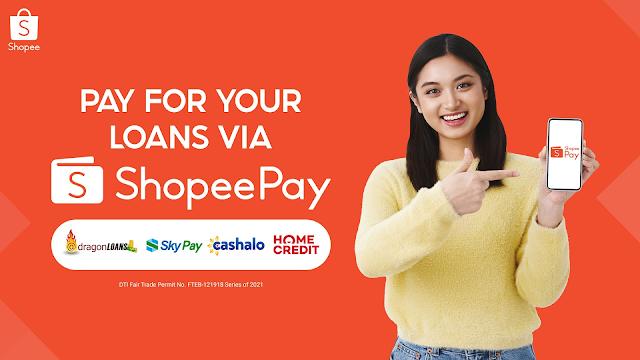 Pay Your Loans via ShopeePay