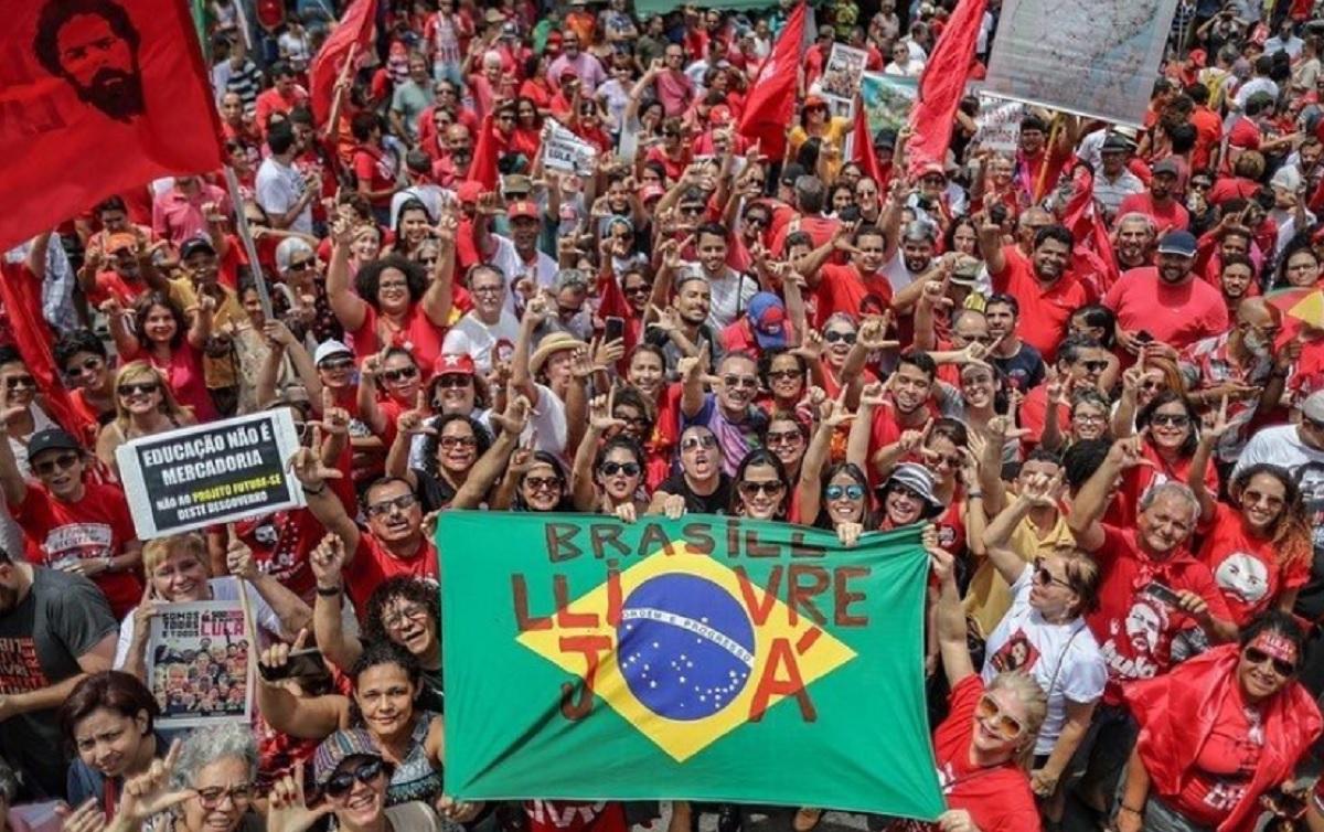 Quarto Mutirao Lula Livre Pede Liberdade Imediata Do Ex