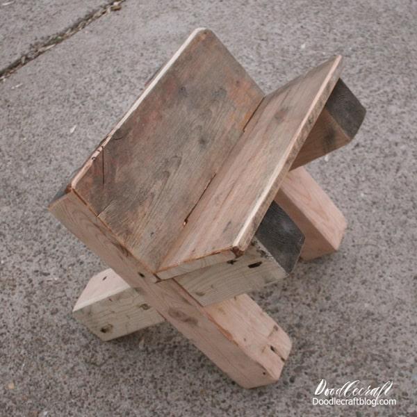 Build a Wood Manger