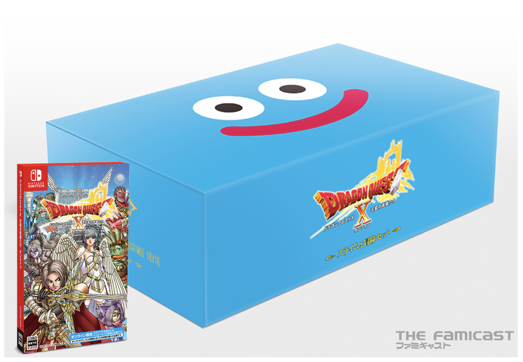 """Dragon Quest X Online Ver 6 & Special """"Slime and Adventure"""" Set Hitting in November"""