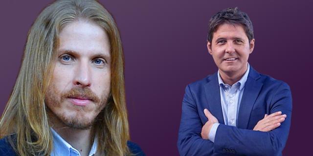 Pablo Fernández y Jesús Cintora